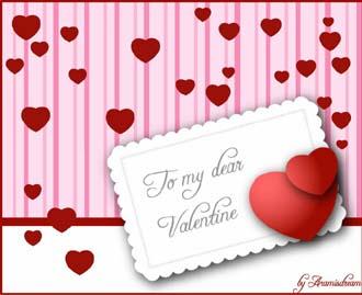Valentine by Aramisdream on deviantART - Free Valentine's Day vectors collection