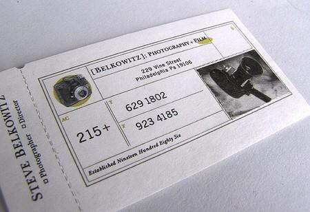 Steven Belkowitz business cards design