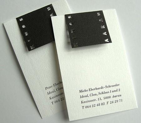 Kinos Aarau cool business cards design