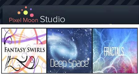 Pixel Moon Studio - Free Photoshop brushes
