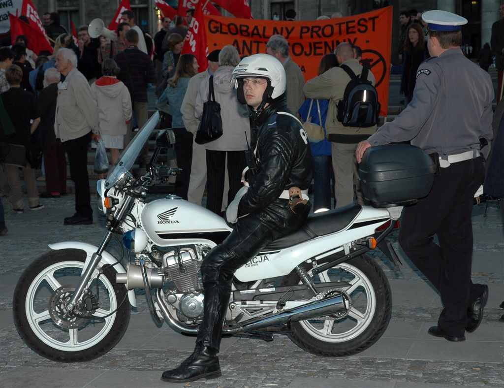 The history of police motorcycle designs