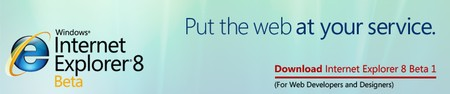 Download Internet Explorer 8 public beta