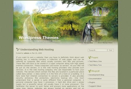 The Hobbit WordPress theme