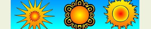 Free Sun Vectors