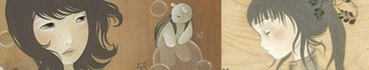 50 Beautiful Feminine Illustrations and Artworks