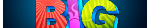 Create a Colorful 3D Text in Photoshop