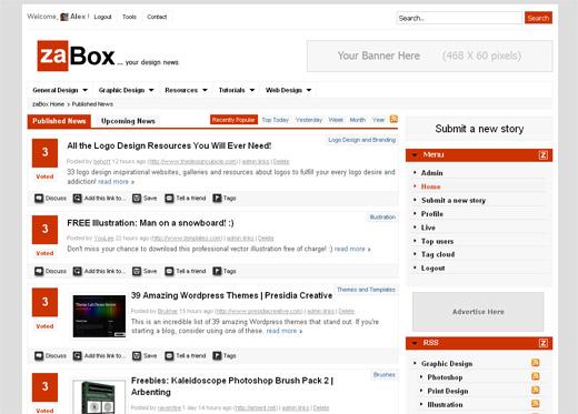 zaBox - Share Your Design News