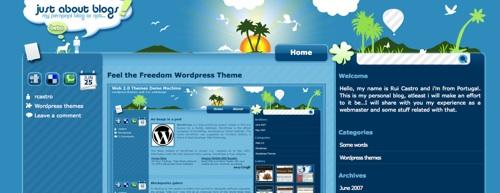 10 Best Web 2.0 WordPress Themes
