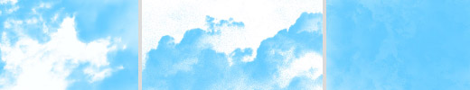 Clouds brushes set