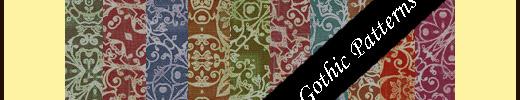 Gothic Seamless Pattern Set Vol.1