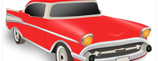 Design a stylish Chevrolet Icon in Photoshop