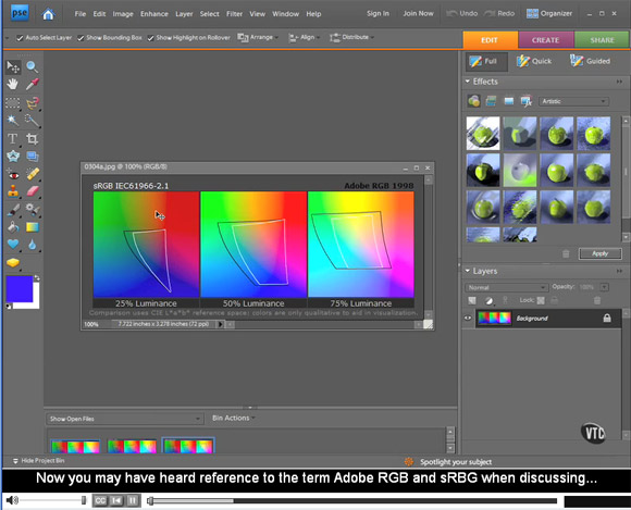Adobe Photoshop Elements 7 Tutorial Video