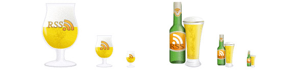 Beer Fest RSS Icons