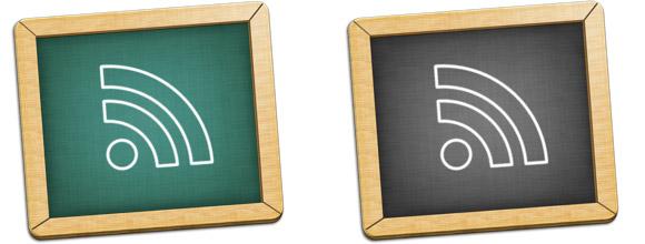 Blackboard RSS Icons