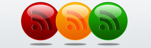Glossy Orbs RSS