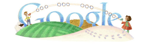 Mihajlo Pupin's Birthday Google Doodle