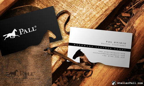 Atelier Pall Leather Goods business card