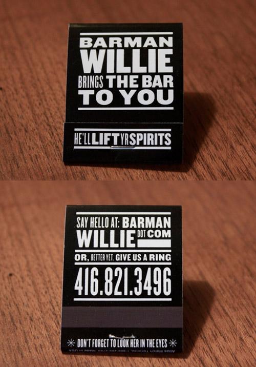 matchbook business cards