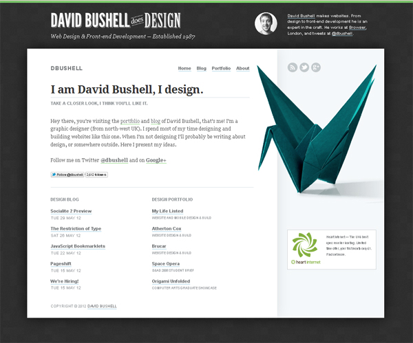 Top 10 Websites Inspired By The Art Of Origami