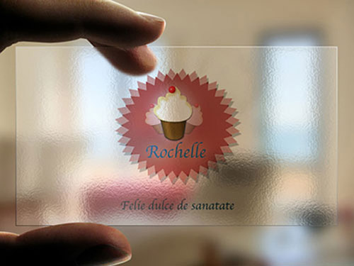 Rochelle Pastry Business Card