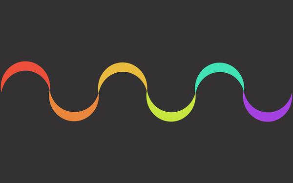 Spectrum minimal wallpaper