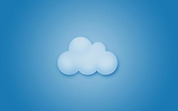 Clouds Minimal Wallpaper