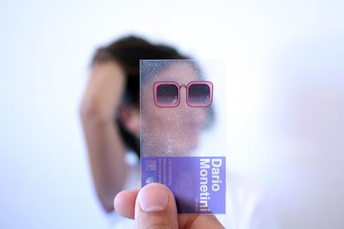 Dario Monetini Plastic Business Card