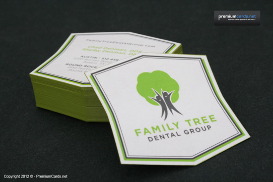 Business cards showcase 1 family tree dental group business card colourmoves