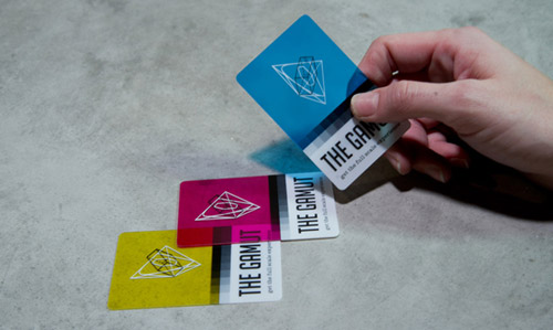 The Gamut Business Card