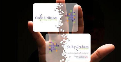 Grafix Unlimited Business Card