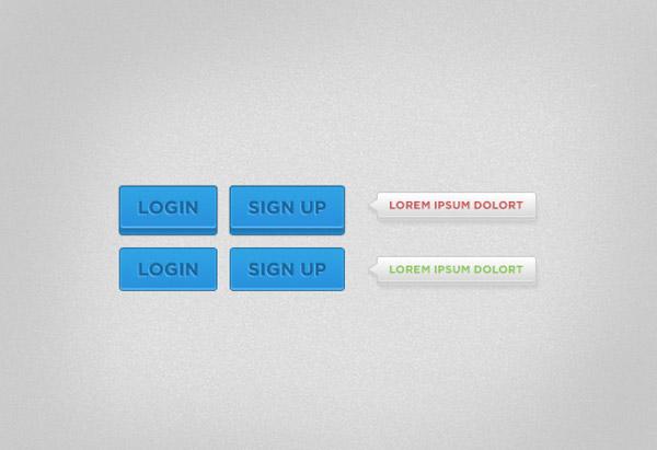 Login / Sign-up button