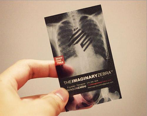 Imaginary Zebra Business Card
