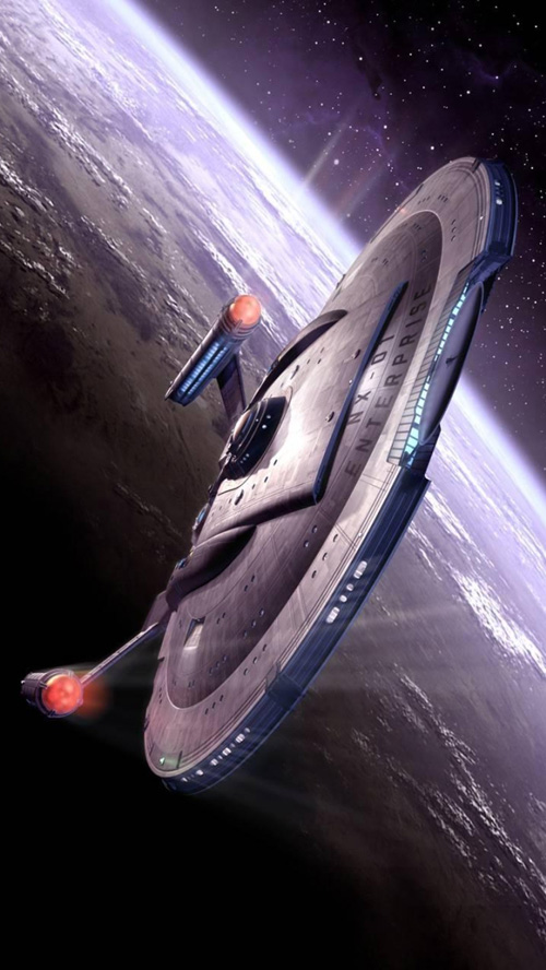 Space ship Enterprise