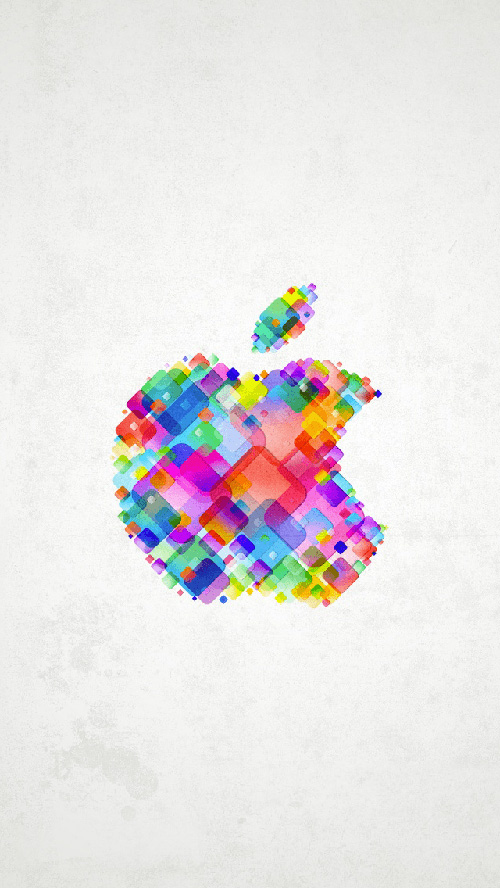 Apple Logo Multicolor
