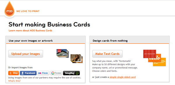 Start Making Your Business Cards