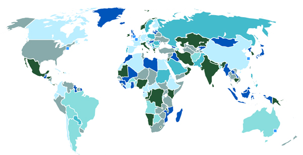 Interactive html5 and flash maps statistical data world map gumiabroncs Gallery