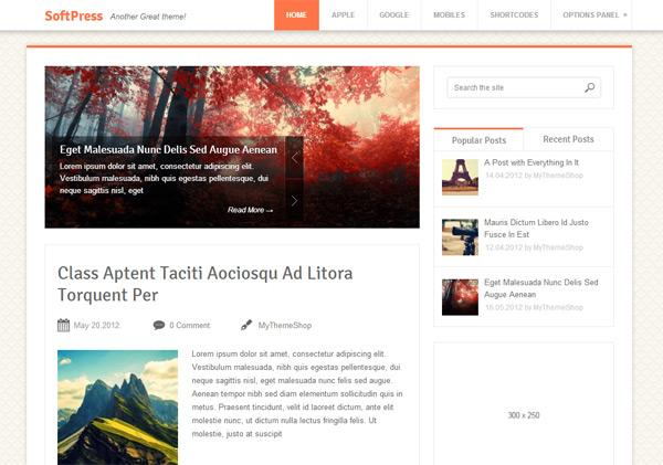 Softpress WordPress Theme