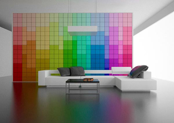 What Graphic Designer Wouldnt Want This Pantone Themed Wall That Was Digitally Printed Custom Wallpaper Is Usually Off In Four Foot Sheets At The
