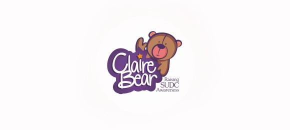 Claire Bear Logo