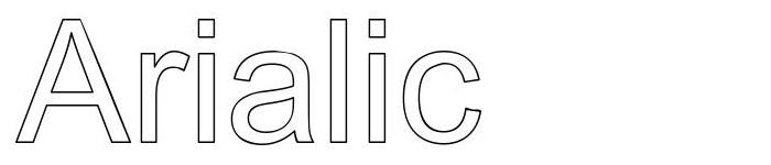 Arialic