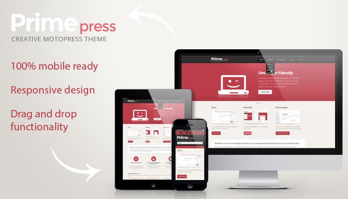 PrimePress theme