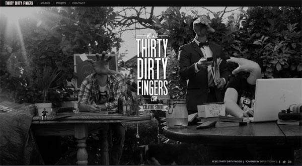 Thirty-dirty-finger