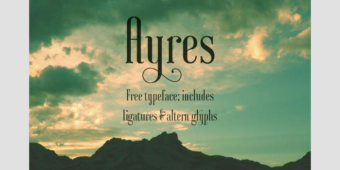 Ayres Free Font
