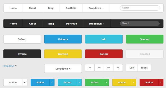ML Strap: Twitter Bootstrap Theme