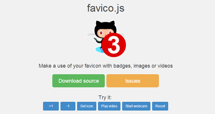 Favico JS