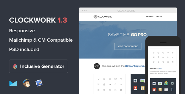 Clockwork Email Template