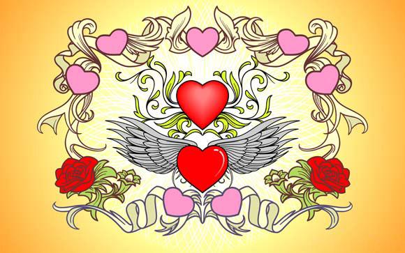 Valentine Day Vector Art