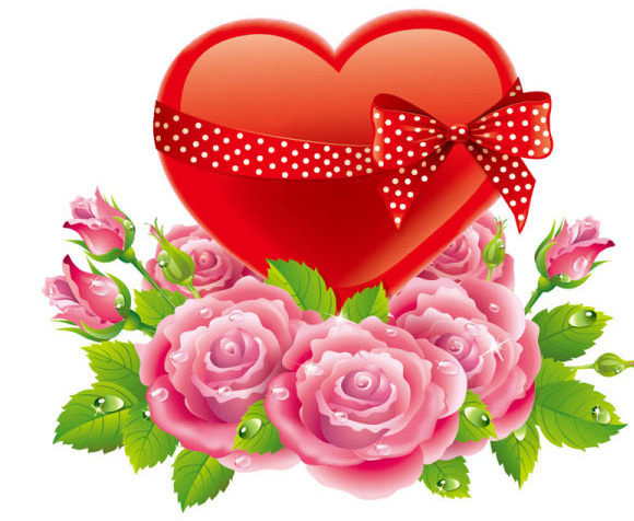 Valentine's Day Rose Love