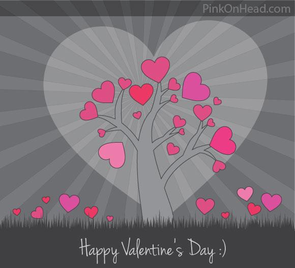 Valentine Vector Card