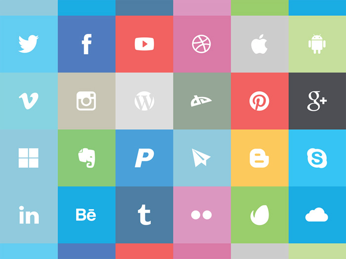 Freebies of the Week - Ecommerce Icons, Explore PSD Website Template ...
